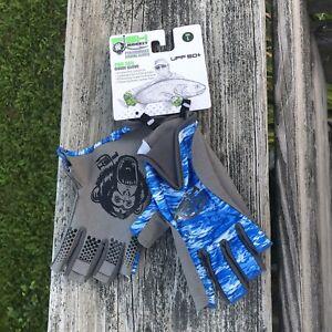 Fish Monkey Performance Pro 365 Fishing Guide Gloves UPF 50+  NWT Sz L