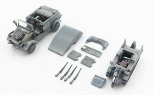 Precision Model Art (PMA) 1/72 German Kubelwagen & Kettenkrad Set 2.SSPzrD P0351