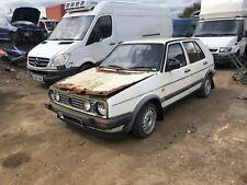 1988 Volkswagen golf Mk2 gti white 5 door