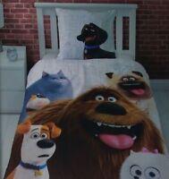 Secret Life of Pets Renforce Wende Bettwäsche Set 135 x 200 cm 100% Baumwolle