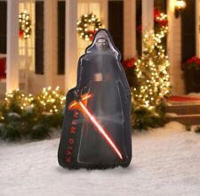STAR WARS KYLO REN PHOTOREALISTIC LED AIRBLOWN INFLATABLE NEW CHRISTMAS 5' Tall
