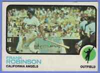 1973 Topps Frank Robinson California Angels #175