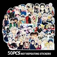50Pcs Yuri!!! On Ice Stickers Japan Anime Character Printed Crafts Top hydi