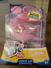 Little Live Pets Interactive Light Up SongBird Electronic Pet-Heartbeams New