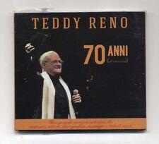 Cd TEDDY RENO 70 anni di canzoni PERFETTO mai usato 2014 FMR