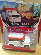 "DISNEY CARS pressofusione - ""carateka"" - SUPER CHASE-VHTF-SPEDIZIONE COMBINATA"