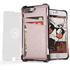 Ghostek Exec Modern Shockproof Credit Card Wallet Case Cover For iPhone 7 Plus