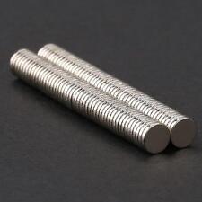 100x N35 Neodymium Disc Super Strong Rare Earth Small Fridge Magnet 5mm*1mm E93