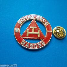 "Freemasonry York Rite Delux Royal Arch Masons Large Pin 1.25"""