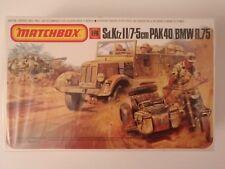 matchbox 1/76 PK171 SdKfz.11, Pak40, BMW DIORAMA SOUS BLISTER