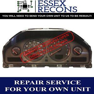 VOLVO XC90 DASH DASHBOARD INSTRUMENT CLUSTER SPEEDO REPAIR SERVICE 02-06
