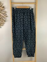 San Cerre Size XL Pants Harrem Boho Bali Blue SanCerre Yoga Hippy Boho Baggy