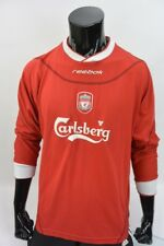 The Reds 2002-04 REEBOK Liverpool FC Home Shirt SIZE L (adults)