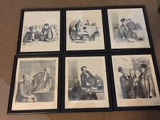 Honore Daumier Lot of 6 Pictures Print/Lithograph