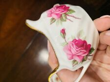 Antique Floral Tea Cup China Decor Dinning Room Decor Collectible Elegant