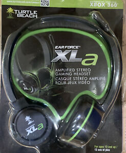 Turtle Beach TBS-2205-01 Ear Force XLA Black Headband Headset *New Unused*