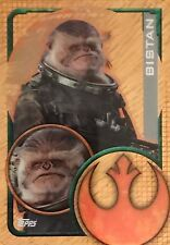 Topps Star Wars Rogue One Clear Plastic Cards