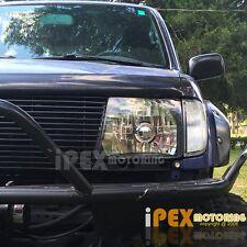 1998-2000 Toyota Tacoma 4X4 4WD Black Headlights + Side Corner Signal Light 4PC