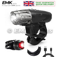 Headlight & Taillight Set Water Resistant Super Bright Front and Back Bike Light