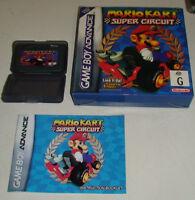 Mario Kart Super Circuit, Gameboy Advance - Boxed with Manual. FREE UK P&P