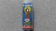 Model Power Lighted Figure Man With Smoking Cigar #7002-1