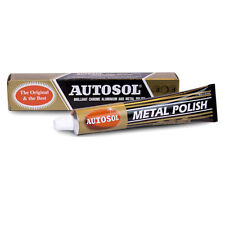 Autosol Solvol Chrome Metal Aluminium Cleaner & Polish The Original & Best