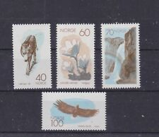 norway 1970 Sc 551/4,michel 602/5,set nature conservation.Mnh o6