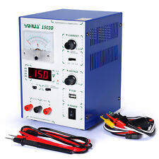 YH-1503D ADJUCSTABLE DC REGULATED SWITCH POWER SUPPLY WITH 5V USB 2018 IMPROVED