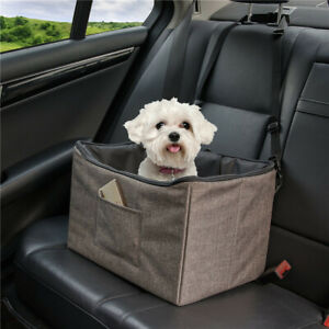 PET Dog Booster Seat, Dog Car Seat, Foldable Design for Easy Travel