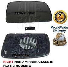 für LAND ROVER entdecken 2004-2009 Rechte Seite Spiegel Glas mit Gehäuse