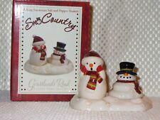 SnoCountry Snowman Salt and Pepper shaker. Grasslands Road
