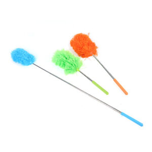 Microfiber Dusting Brush Extend Stretch Feather Home Dust Cleaner Brush tool FJ