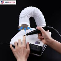 60W 360° Nail Dust Collector Suction Vacuum Fan Cleaner Art Manicure Machine US