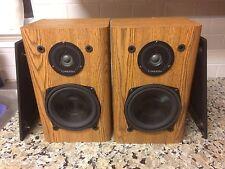 Vintage Infinity RS 2000 High-Quality 2-Way Bookshelf Speakers