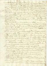 Manoscritto 1600 Studio Storia del Belgio dal 1369 al 1500 Regnanti e Politica