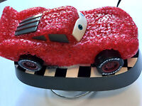 Disney Pixar Cars Lightening McQueen Night Light Table Lamp Plug In