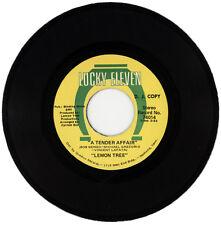 "LEMON TREE  ""A TENDER AFFAIR c/w GLORY GLORY"" DEMO  70's SOUL MOVER  LISTEN!"