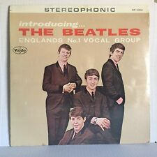 SEALED LP ~ INTRODUCING THE BEATLES on VEE JAY SR 1062 unofficial reissue?