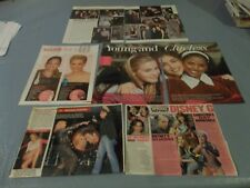 Brittany Murphy rare  clippings #CB