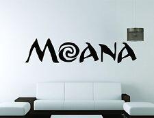 Wall Mural Vinyl Decal Sticker Decor Moana Cartoon Disney Kids Room Princess
