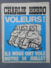 ►CHARLIE HEBDO N°87 - JUILLET 1972 - REISER