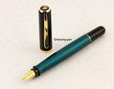 "Pelikan Fountain Pen EPOCH P360 in Emerald Green / Smaragdgrün with ""B"" nib"