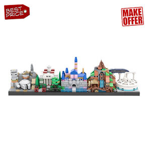 Architecture Skyline Style Theme Park 535 PCS Bricks MOC-34077 for Kids