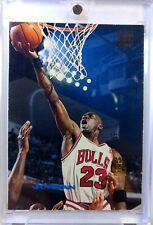Promo: 1993-94 Topps Stadium Club Triple Double Michael Jordan #1, Blue Jordan