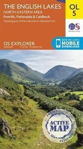 Lake District OS Explorer Active map OL5 The English Lakes... by Ordnance Survey