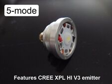 XP-L High Intensity V3 emitte with 5-mode 7135 driver Ultrafire C8 Flashlight