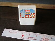 Fisher Price Fun with Food Milk Container (Pictured milk cow glass) white drink