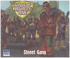 JUDGE DREDD Street Gang Miniature Set MEGA CITY ONE GAME MGP7051 Wargame Models