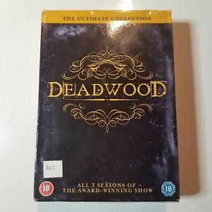 Deadwood: The Ultimate Collection (All 3 Seasons) | DVD TV Series | 2004 | Used