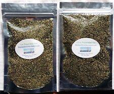 Peppermint Leaf Cut Tea- No Caffeine, Natural, Healthy & Tasty, 1/2 - 4 oz Packs